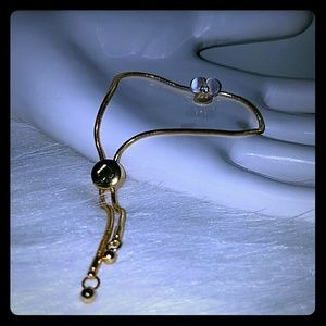 Kate spade adjustable mother of pearl bracelet